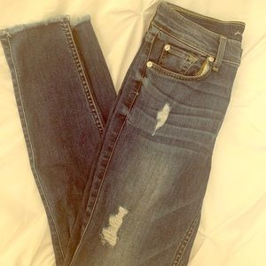 7 for all mankind Gwenevere jeans size 27